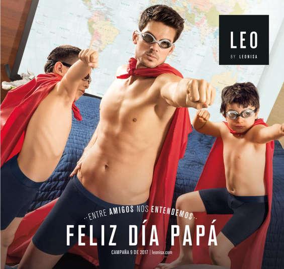 Ofertas de Leonisa, Feliz día Papá - Campaña 09 de 2017