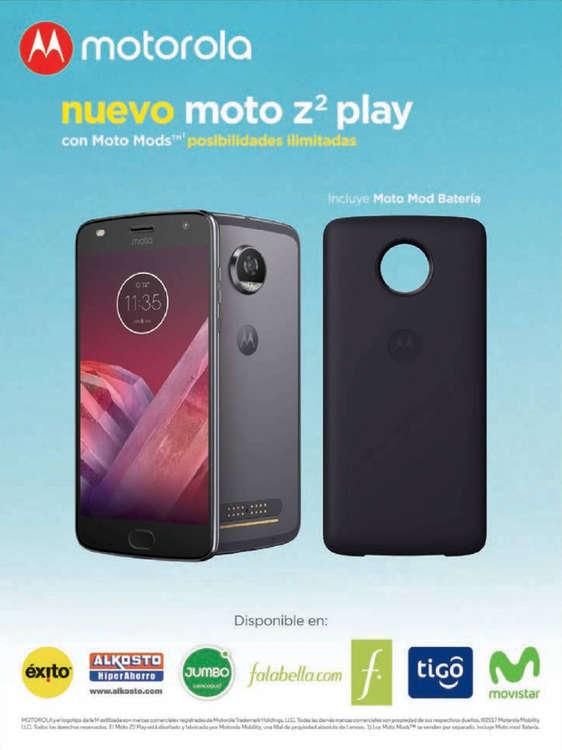 Ofertas de Movistar, Nuevo moto Z2 play