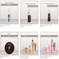 Productos de belleza Moments by Tania