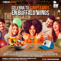 Celebra tu cumpleaños en Buffalo Wings