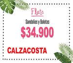 Ofertas de Calzacosta, Flats - Sandalias y Baletas