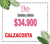 Flats - Sandalias y Baletas
