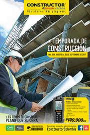 Temporada de Construcción - Bucaramanga