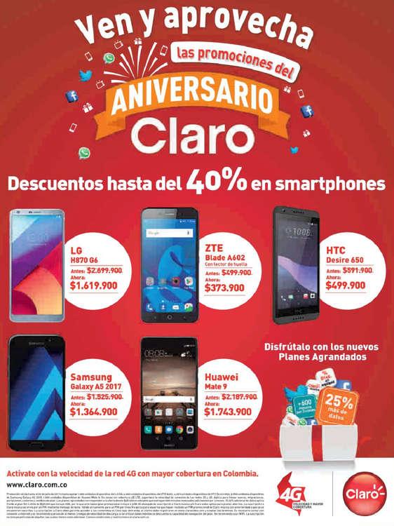 Ofertas de Claro, Ven y aprovecha las promociones del aniversario Claro