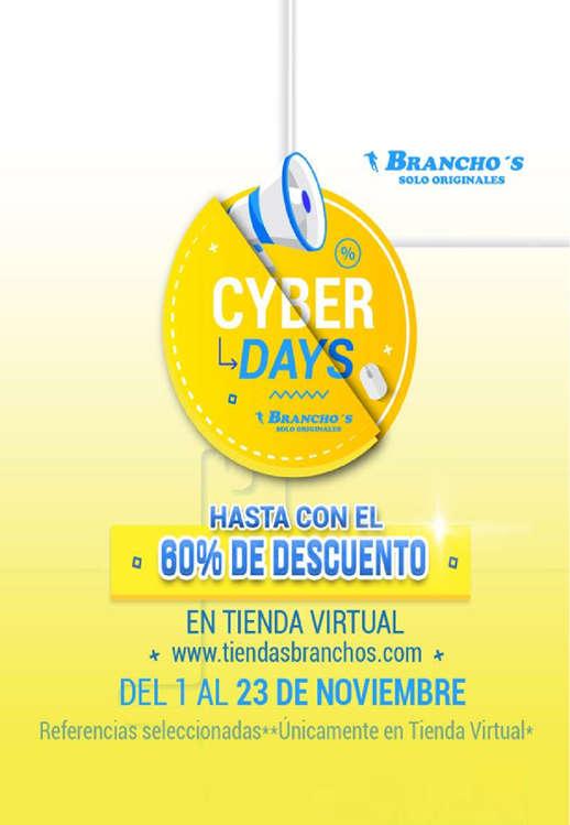 Ofertas de Branchos, Cyber Days - Hasta con el 60% de descuento