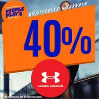 40% de descuento en Under Armor