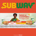 Ofertas de Subway, Menú Al Cuadrado