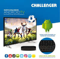 Nuevos TV Android Challenger