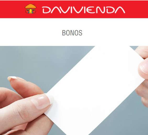 Ofertas de Davivienda, Davipuntos - Bonos