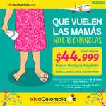 Ofertas de Viva Colombia, Que vuelen las mamás, no las chanclas